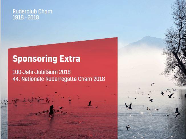 Sponsoring Nationale Ruderregatta Cham 2018